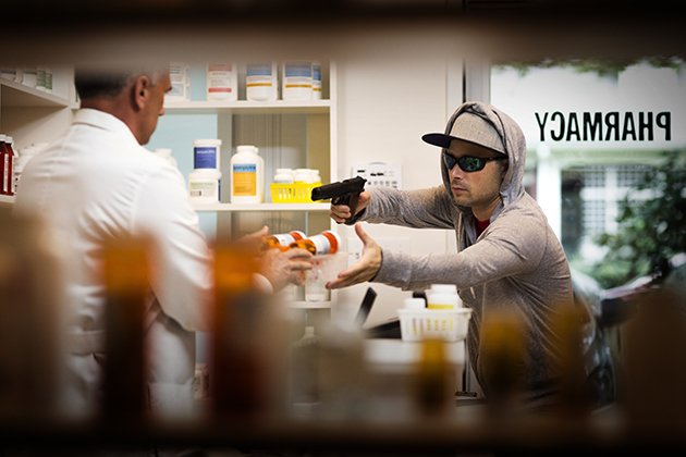 What can pharmacists learn from this robbery story?