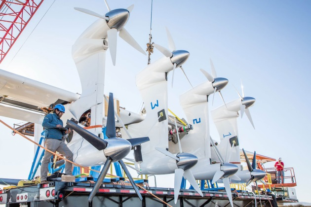 Alphabet subsidiary Makani is developing a wind-generating kite