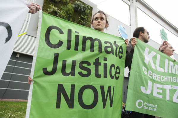 Climate change creates clashes in courts, streets