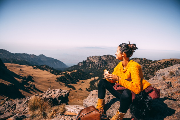 A tasty rule for longer hiking trips