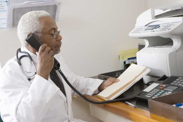 For many hospitals, the fax machine is still the dominant information sharing tech