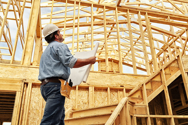 Home construction recoups as sales slump