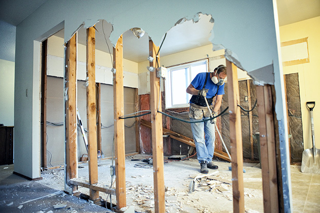 Homebound homeowners pursue remodeling projects