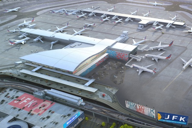 Construction work begins on JFK's Terminal 8
