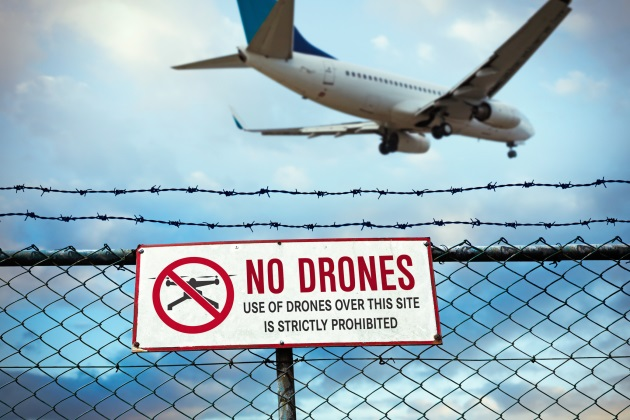 Airports encouraged to invest in anti-drone measures before the threats grow