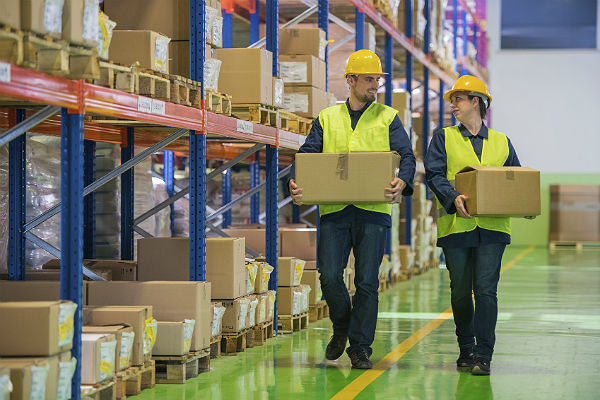 Employing a staffing service at your warehouse