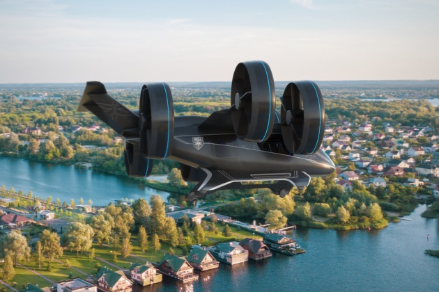 Travel2020: Uber's futuristic air taxi lands at CES