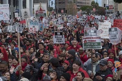 Did the Los Angeles teachers' strike change US education?