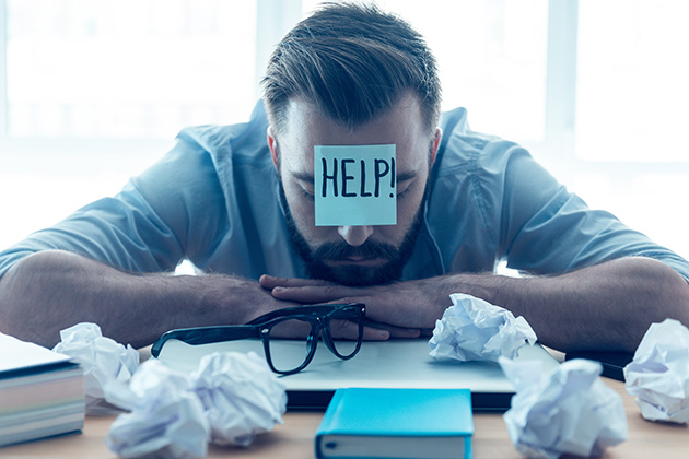 Getting help for struggling managers