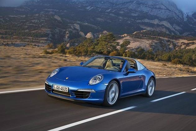 Porsche Targa gets back to its roots