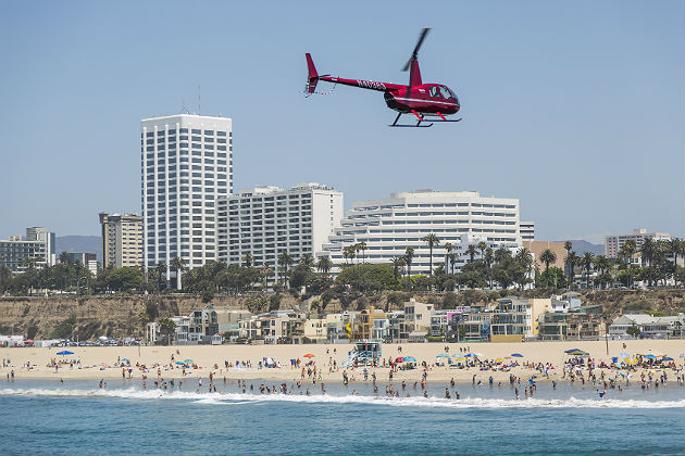A helicopter noise standoff in Los Angeles