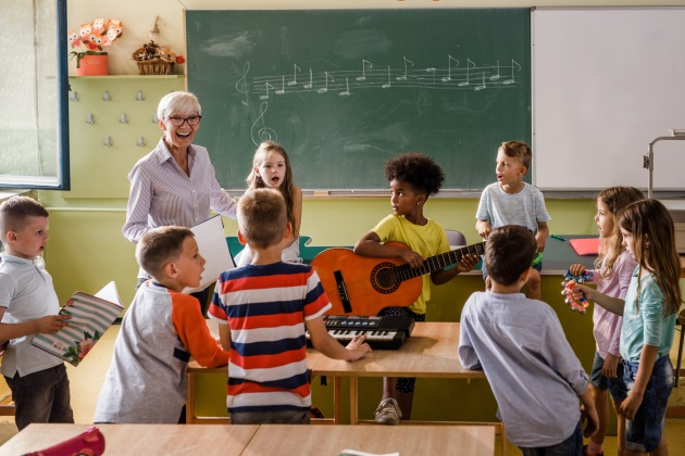 Tips for teaching first-graders music
