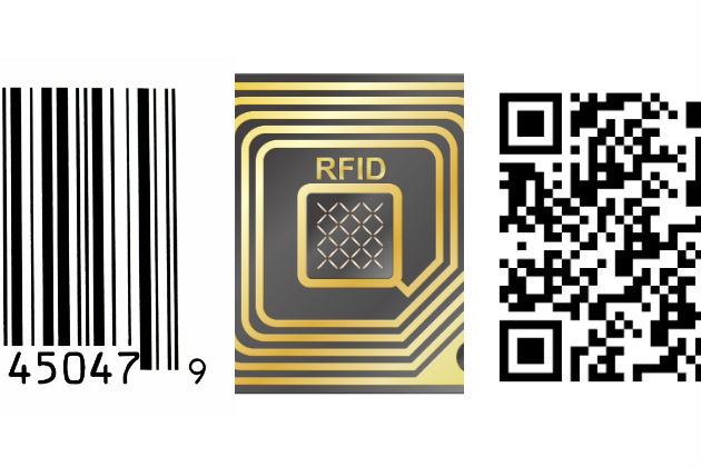 Barcodes, QR codes or RFID tags? How companies select products