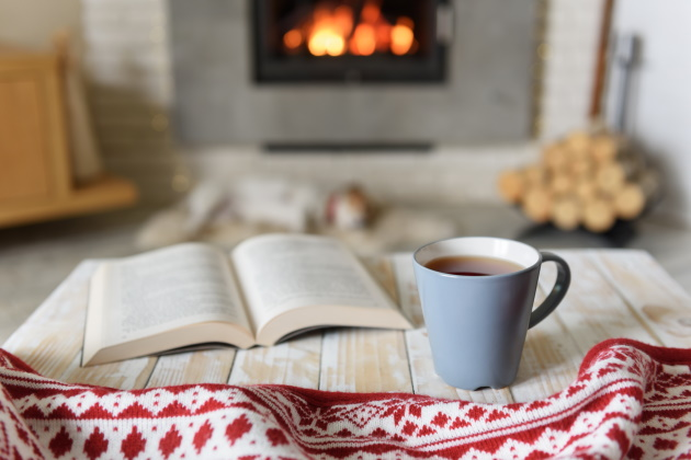 Happy hygge! Get cozy this Valentine's Day to boost your happiness