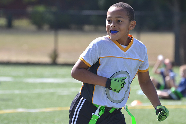 Tackle this: Flag football only until high school?