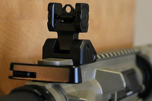 How to zero backup iron sights on an AR-15