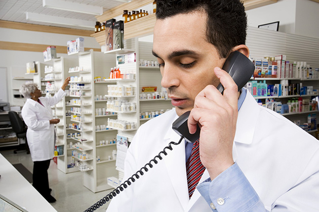 Why should pharmacies notify physicians about rejections?