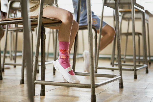 Do students think best on their feet?