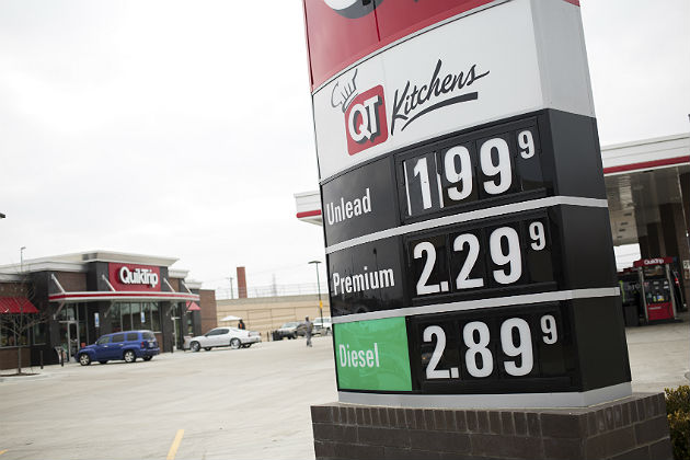 How can low gas prices be bad for the transportation industry?