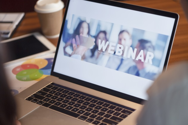 Using webinars in your B2B marketing