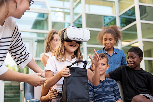 Immersive technology is changing K-12 education