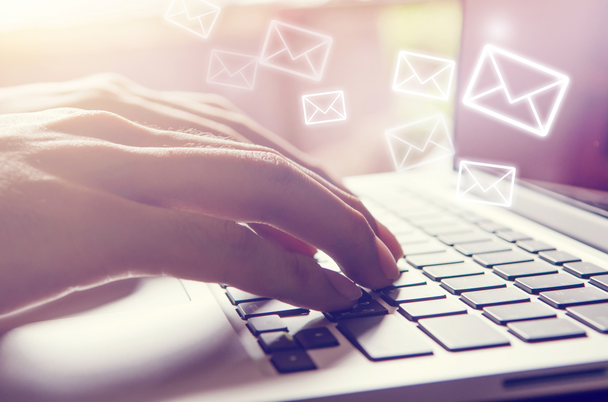 Don't allow email burnout to push your buttons