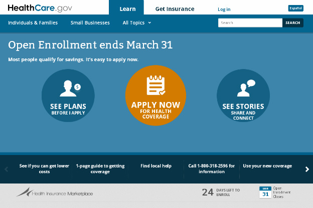 Exchange enrollment exceeds expectations, but too early to determine impact