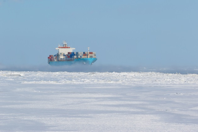 MultiBrief: Diminishing Arctic ice opens trade routes