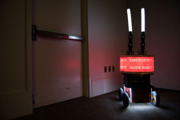 Would you trust a robot in an emergency?