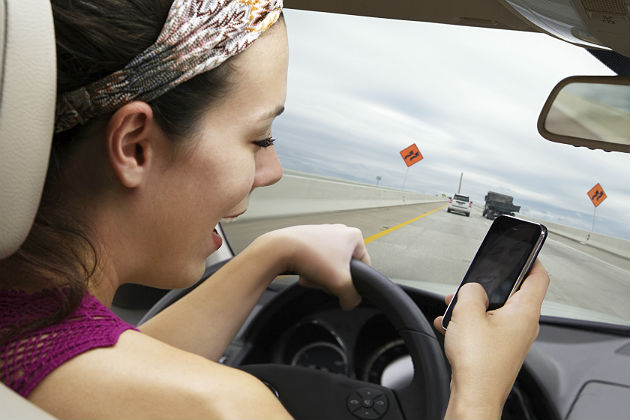 Despite PR campaigns, distracted driving continues to be a problem