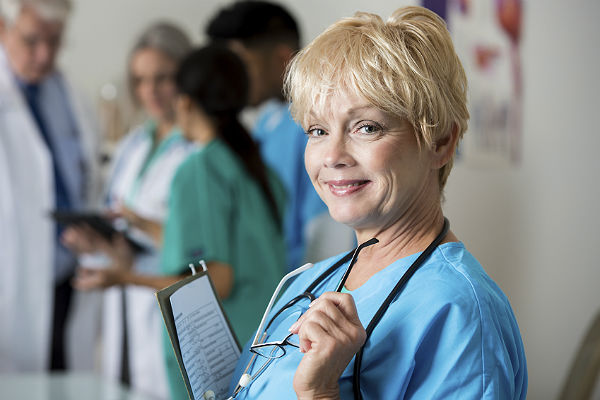Healthy aging in the nursing profession