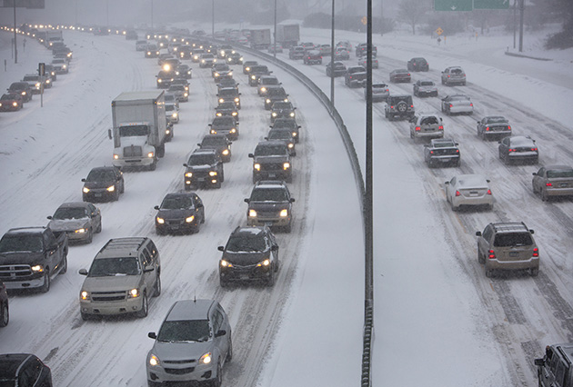 Snow and floods: How cities can prepare roads and bridges