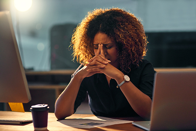 Managers beware: Your employees are probably tired and anxious