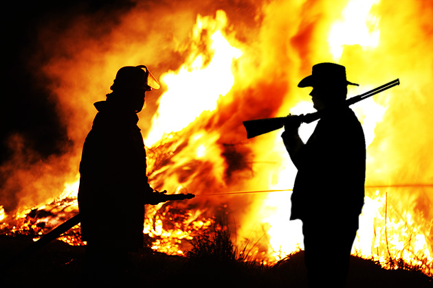 Applying cowboy ethics to today's firefighters