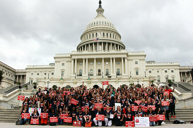 Nurses continue to push for safe staffing in DC