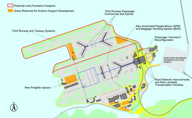 the third runway in hong kong There are numerous airport expansion projects taking place presently that are  attracting more attention than hong kong's third runway - for.