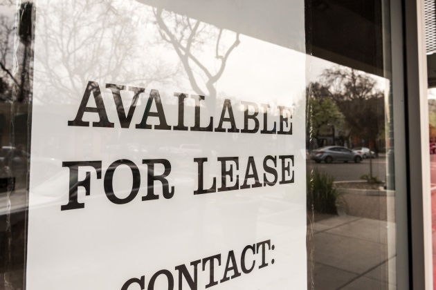 When should the commercial lease end?