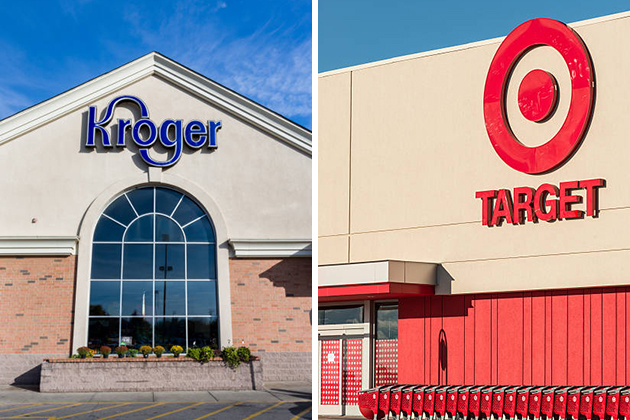 How would a Target-Kroger merger affect the grocery industry?