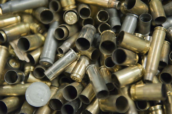 Reloading your own ammunition: Dropping gunpowder