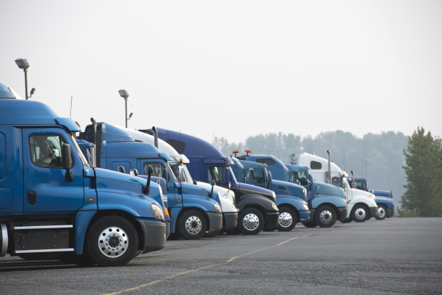 As COVID-19 cases swell, the trucking industry struggles to keep drivers safe