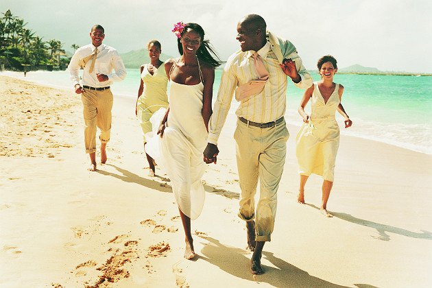 Destination weddings gaining in popularity
