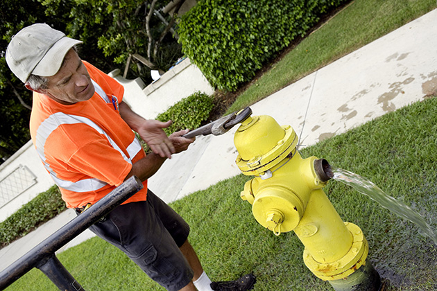 Advantages of doing hydrant maintenance in public
