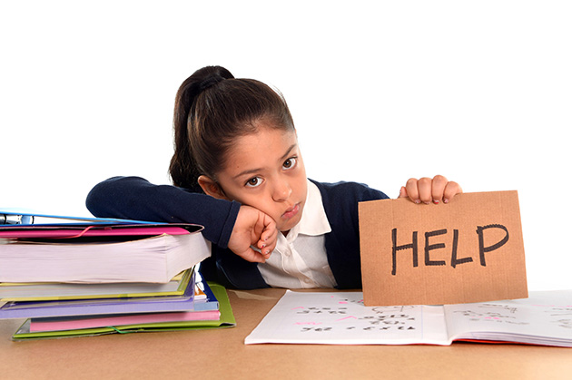 My child struggles with learning. How can I help her at home?