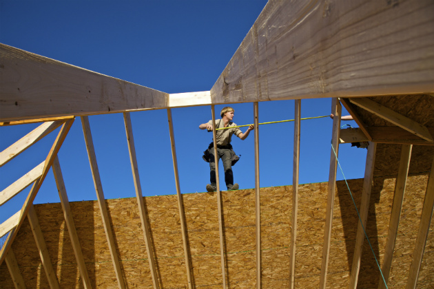 Builders 'cautiously optimistic' despite slow growth