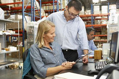 Self-directed work teams in the warehouse