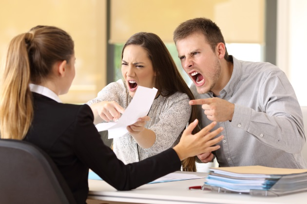 4 ways to help your staff cope with nasty customers