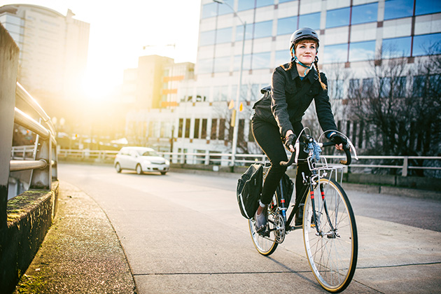 Cut your chances of cancer and heart disease by biking to work
