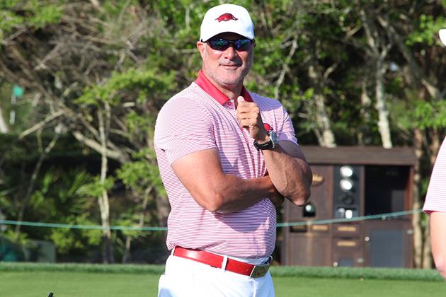 Golf Q&A: Arkansas coach Brad McMakin