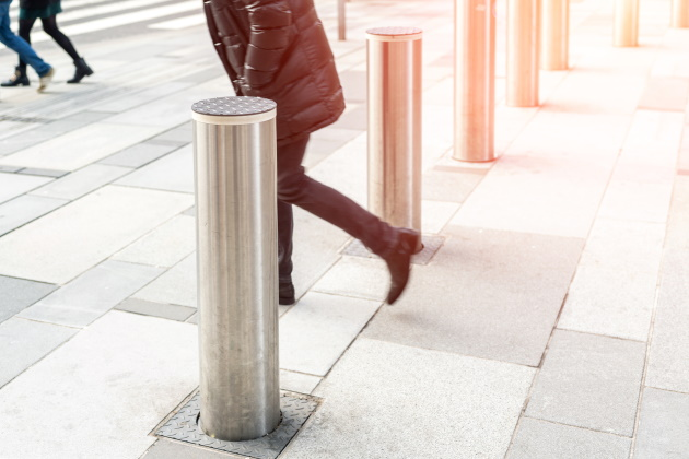 How bollards increase security at commercial and outdoor spaces