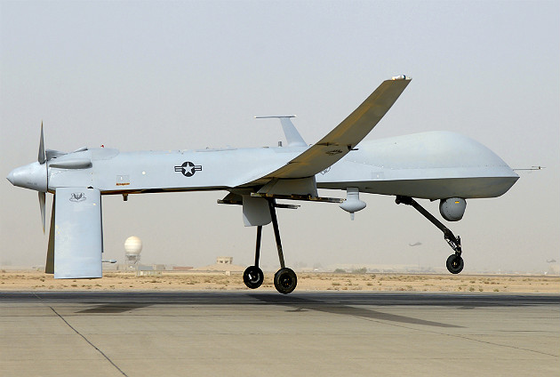 The MQ 1 Predator Drone Is A 2250 Pound 48 Foot Wingspan Weapon System Armed With Deadly AGM 114 Hellfire Or AIM 92 Stinger Missiles